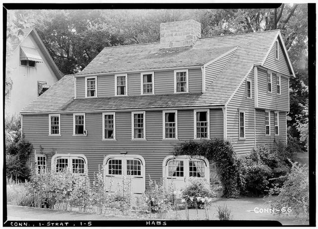 General Joseph Walker House, 2175 Elm Street, Stratford, Fairfield County, CT