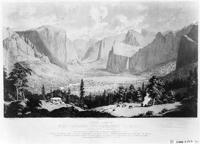 General view of the great Yo-semite Valley
