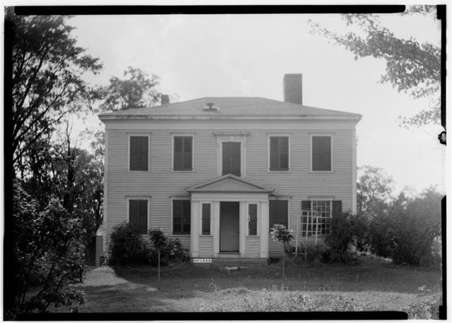 General William North House, North Mansion Road, Duanesburg, Schenectady County, NY