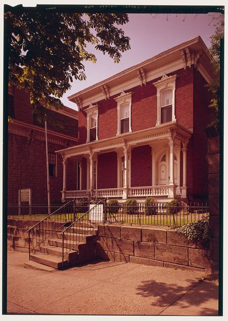 General William T. Sherman House, 137  East Main Street, Lancaster, Fairfield County, OH