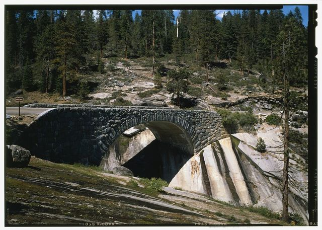 Generals Highway, Clover Creek Bridge, Spanning Clover Creek on Generals Highway, approximately 22 miles northeast of Ash Mountain Entrance, Three Rivers, Tulare County, CA