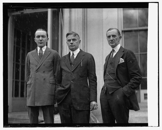 Geo. E. Divino[?], I.N.S.I., J[...] Gregg, NY Sun, Ernest W. Knorr, S.N., 2/25/24