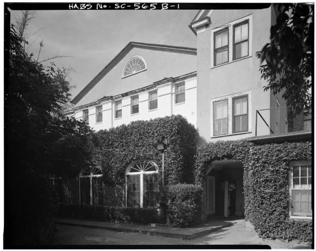 George A. Trenholm House, Kitchen Building, 172 Rutledge Avenue, Charleston, Charleston County, SC