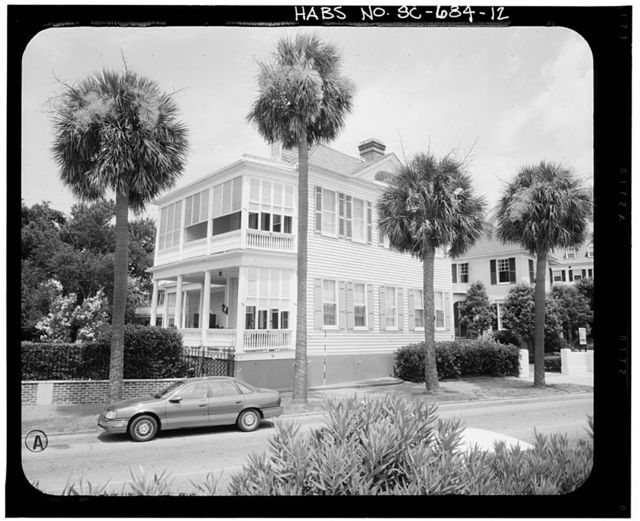 George Chisolm House, 39 East Battery Street, Charleston, Charleston County, SC