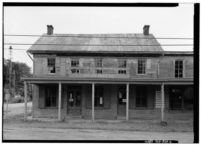 George Harper Store, Maryland Route 292 & Main Street, Still Pond, Kent County, MD