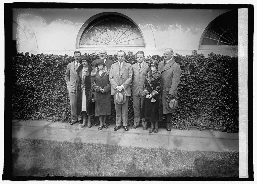 George Junior Republic with Coolidge, 12/21/25