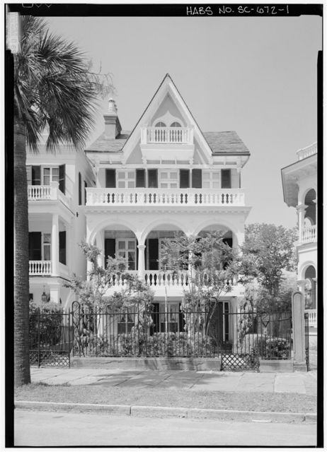 George S. Cook House, 28 South Battery Street, Charleston, Charleston County, SC