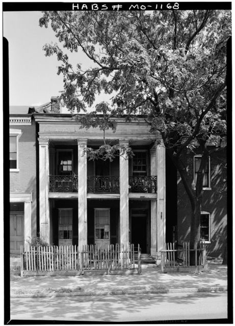 George W. Sherrick House, 2618 South Seventh Street, Saint Louis, Independent City, MO
