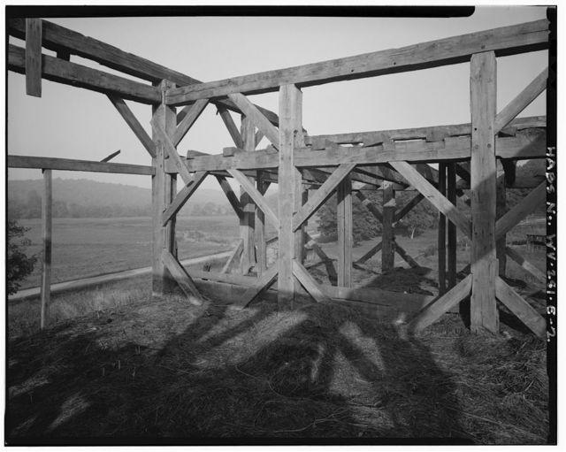 George Washington Smith Farm, Barn, Elk Fork Road, Ripley, Jackson County, WV