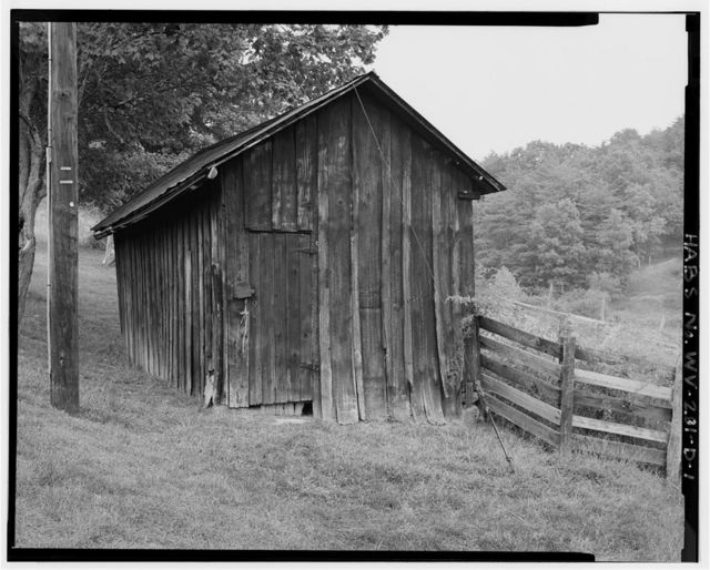 George Washington Smith Farm, Utility Shed, Elk Fork Road, Ripley, Jackson County, WV