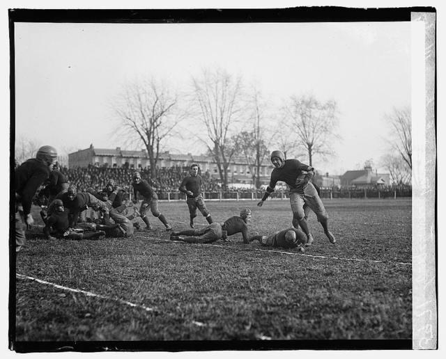 Georgetown, Wash. & Lee game, 11/28