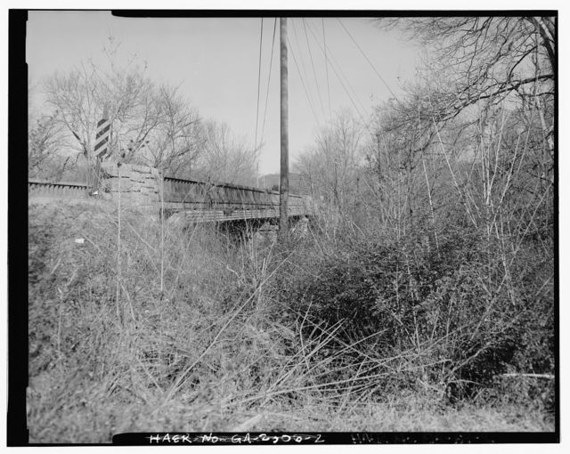 Georgia DOT Bridge No. 047-00820F-00347E, County Road 382 Spanning Chickamauga Creek, Ringgold, Catoosa County, GA