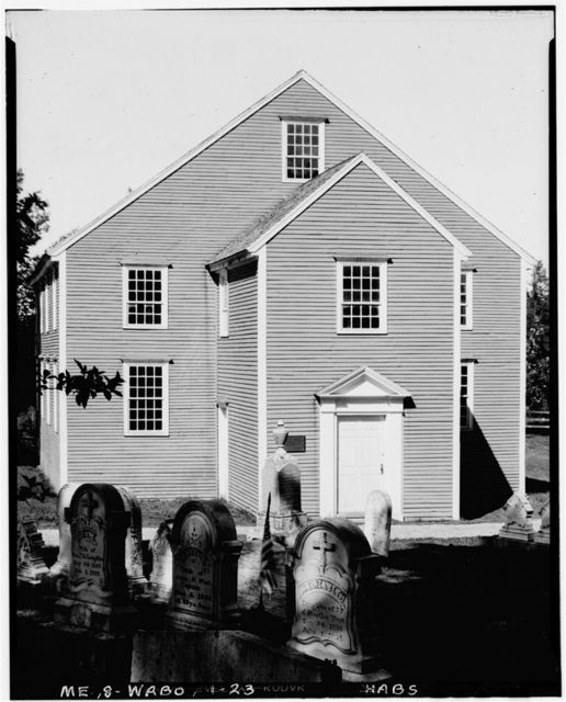 German Lutheran Church, State Route 32, Waldoboro, Lincoln County, ME