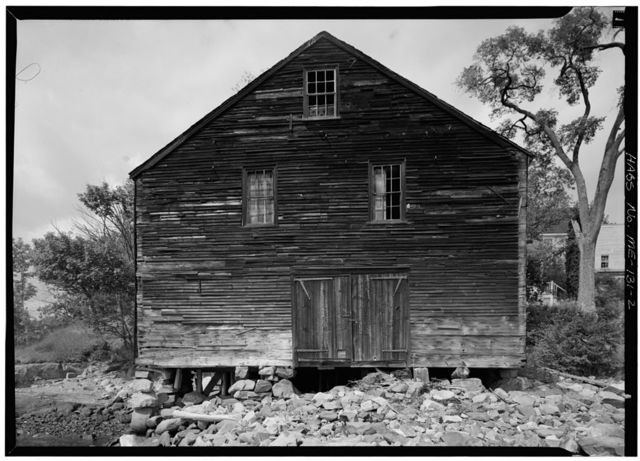 Gerrish Warehouse, Pepperrell Cove, Southwest of State Route 103, Kittery Point, York County, ME