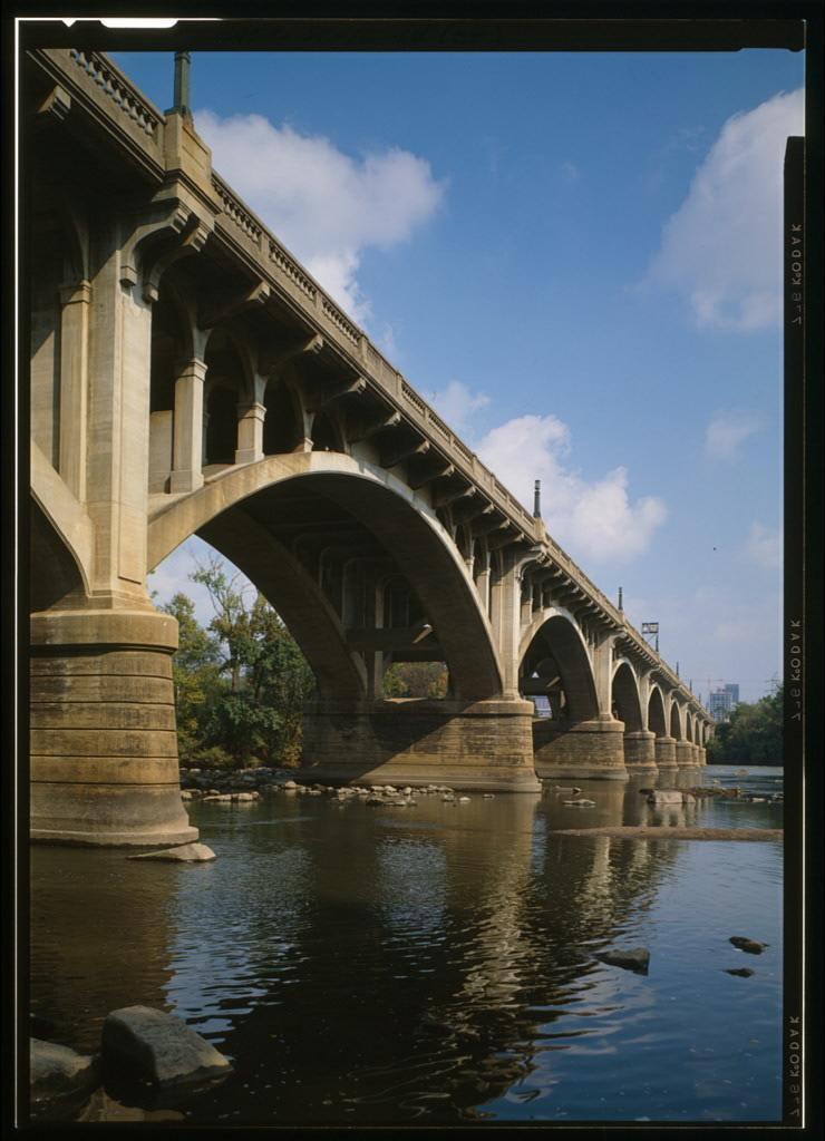 Gervais Street Bridge, Gervais Street spanning Congaree River, Columbia, Richland County, SC