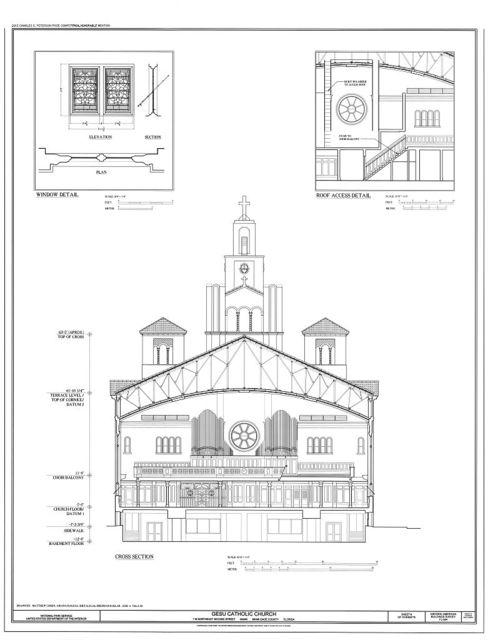 Gesu Catholic Church, 118 Northeast Second Street, Miami, Miami-Dade County, FL