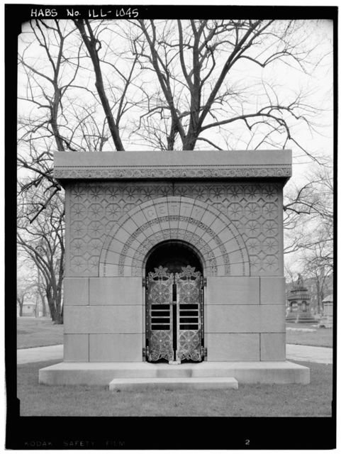 Getty Tomb, North Clark Street & West Irving Park Road, Chicago, Cook County, IL