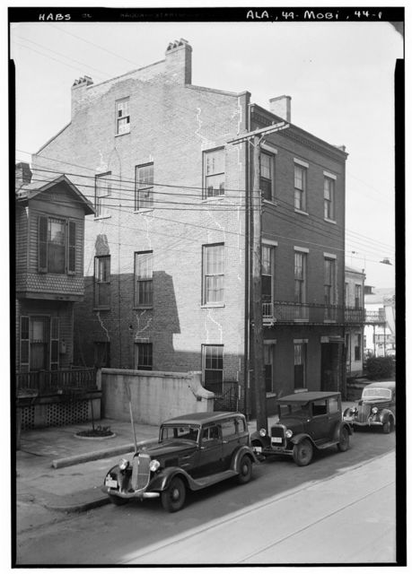 Gibbons-Torry House, Gate & Privy, 60 South Conception Street, Mobile, Mobile County, AL