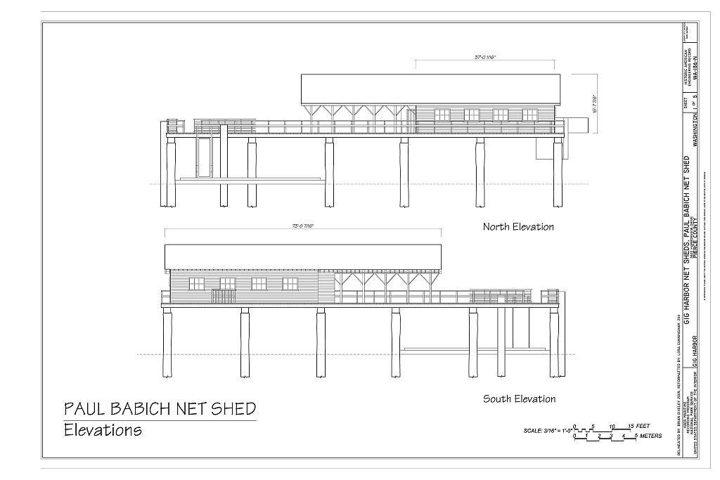 Gig Harbor Net Sheds, Babich Net Shed, 2915 Harborview Drive, Gig Harbor, Pierce County, WA
