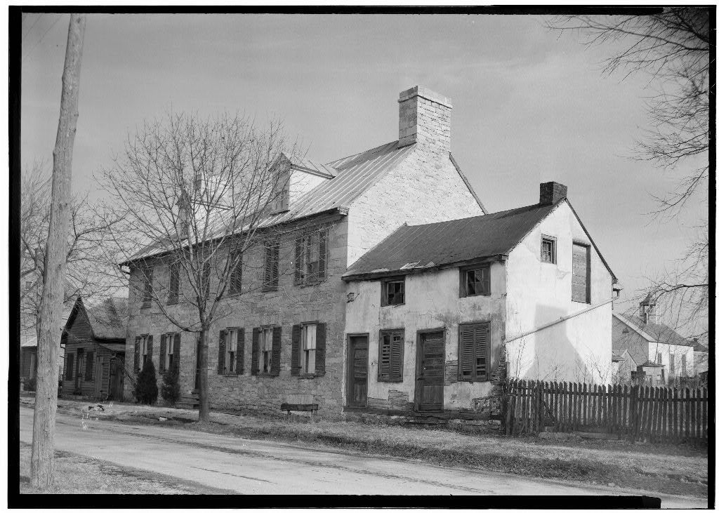 Gilbert Stone House, Middleway, Jefferson County, WV