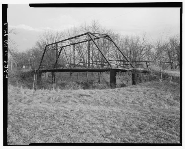 Gill Bridge, Spanning Lick Creek at County Road 181, Perry, Ralls County, MO