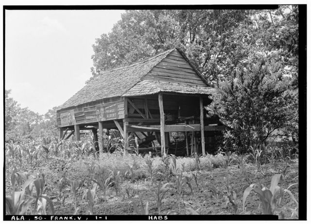 Gin House, State Highway 41 (moved from AL, Goode Plantation), Franklin, Monroe County, AL