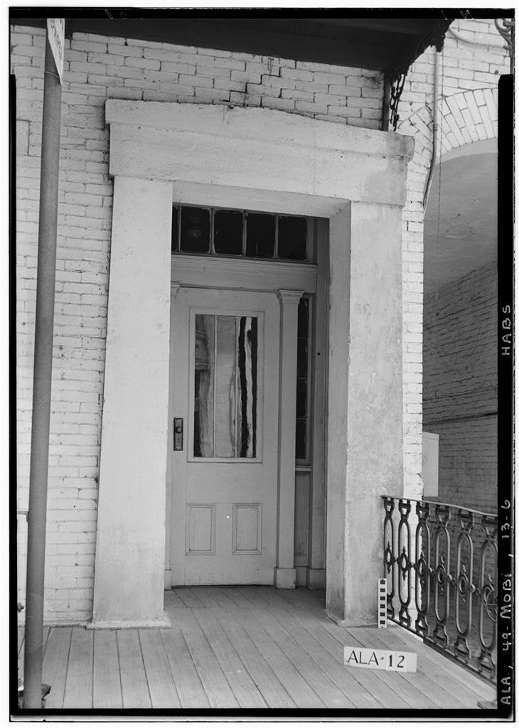 Girard Double House, 56-58 South Conception Street, Mobile, Mobile County, AL