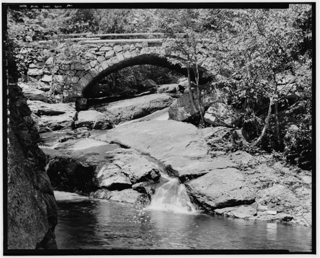 Gleason Falls Bridge, Spanning Beard Brook, Hillsboro, Hillsborough County, NH