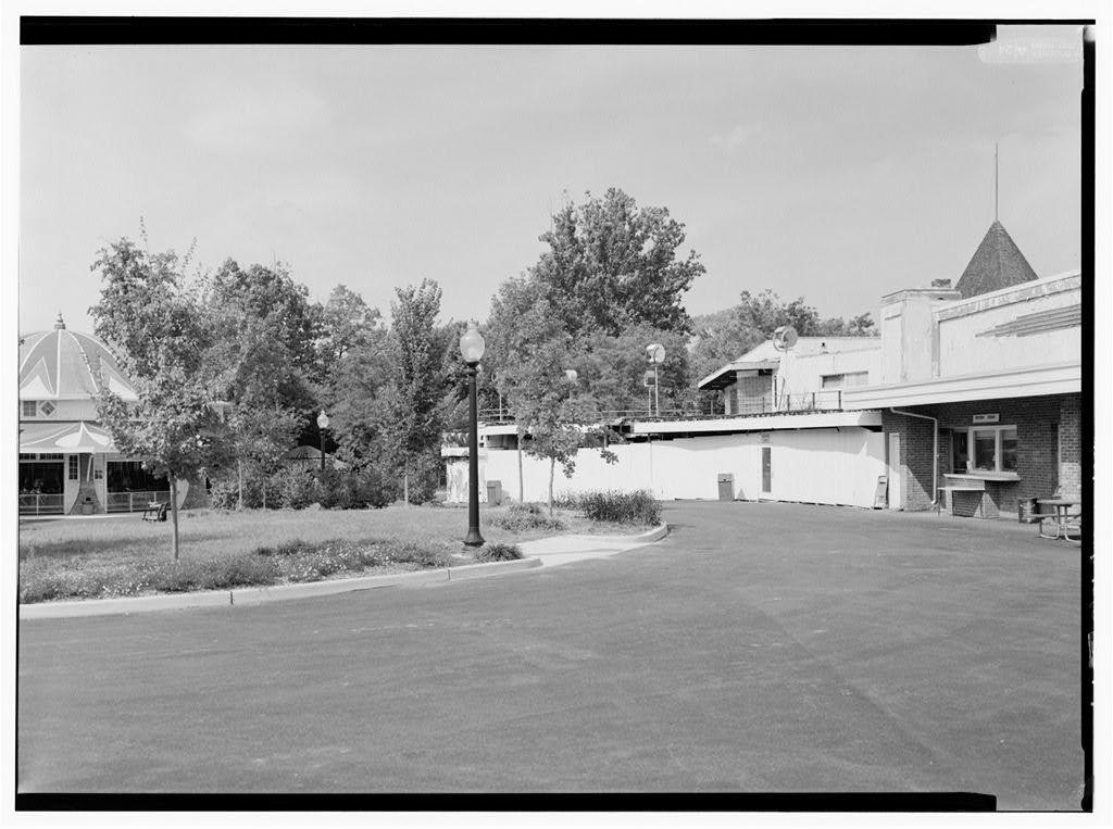 Glen Echo Park, Administration Building, 7300 MacArthur Boulevard, Glen Echo, Montgomery County, MD