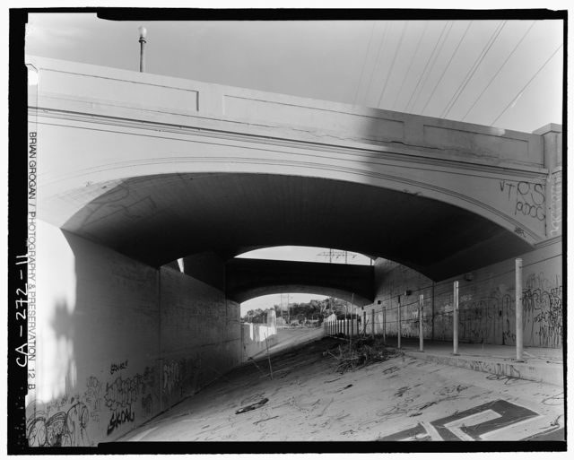 Glendale-Hyperion Viaduct, Spanning Golden State Freeway (I-5) & Los Angeles River at Glendale Boulevard, Los Angeles, Los Angeles County, CA