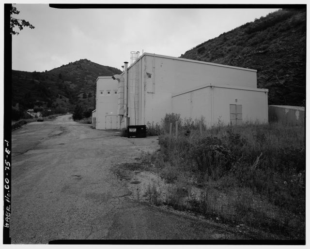 Glenn L. Martin Company, Titan Missile Test Facilities, Control Building A, Waterton Canyon Road & Colorado Highway 121, Lakewood, Jefferson County, CO