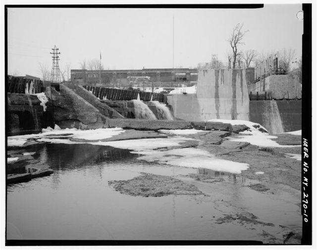 Glens Falls Dam, 100' to 450' West of U.S. Route 9 Bridge Spanning Hudson River, Glens Falls, Warren County, NY