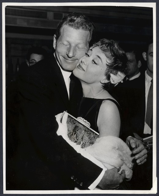 """Glynis Johns, who appeared with Danny Kaye in """"The Court Jester"""""""