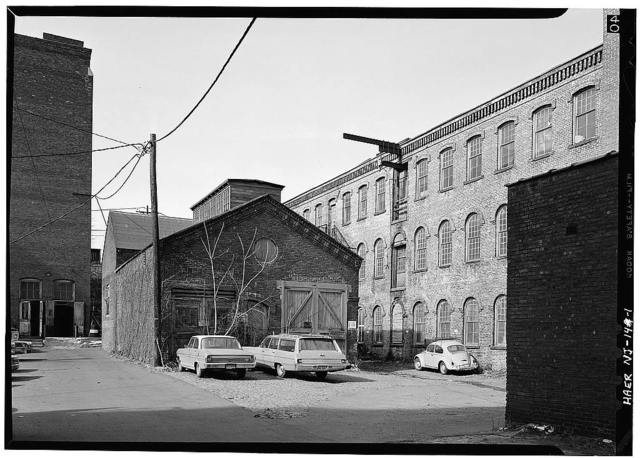 Godwin Mill, Boiler & Engine House, Mill & Market Streets, Paterson, Passaic County, NJ