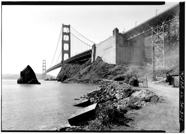 Golden Gate Bridge, Spanning mouth of San Francisco Bay, San Francisco, San Francisco County, CA