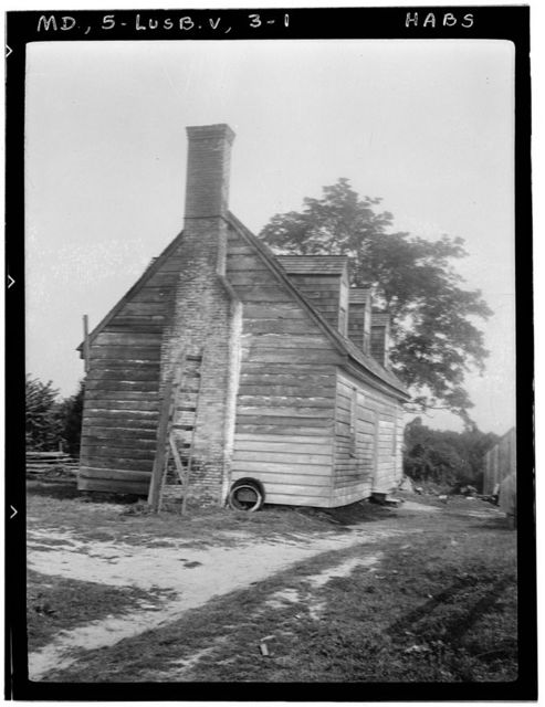 Goldstein House, State Routes 2 & 4, Lusby, Calvert County, MD