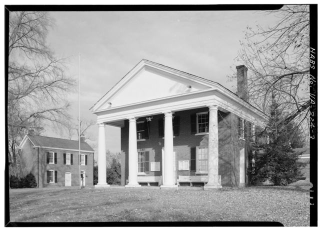 Goochland County Courthouse, East Side of U.S. Route 522, Goochland, Goochland County, VA