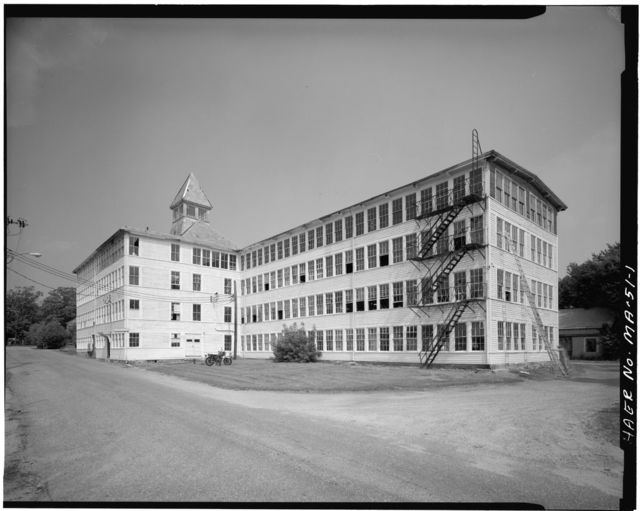 Goodwill Shoe Company Factory, 26-28 Water Street, Holliston, Middlesex County, MA