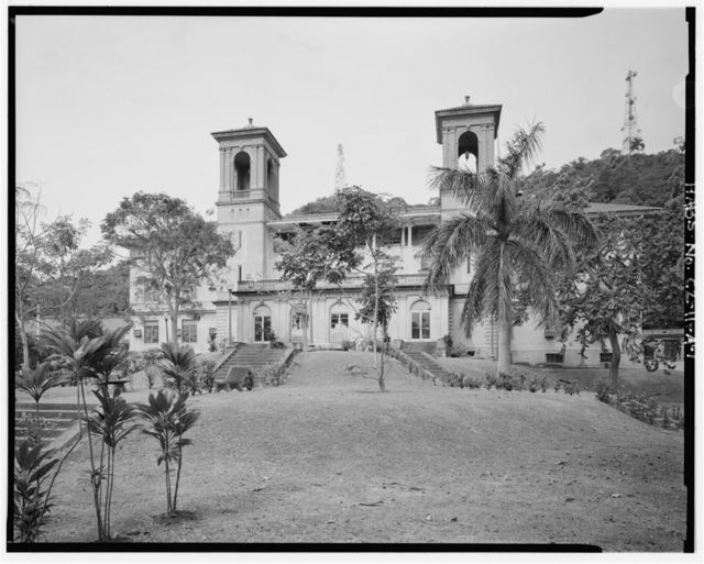 Gorgas Hospital, Administration & Clinics Building, Culebra Road, Balboa Heights, Former Panama Canal Zone, CZ