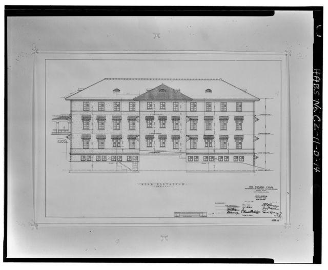 Gorgas Hospital, Isolation Ward, Culebra Road, Balboa Heights, Former Panama Canal Zone, CZ