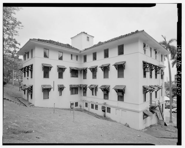 Gorgas Hospital, Isolation Ward, Culebra Road, Balboa Heights, Former Panama Canal Zone, CZ