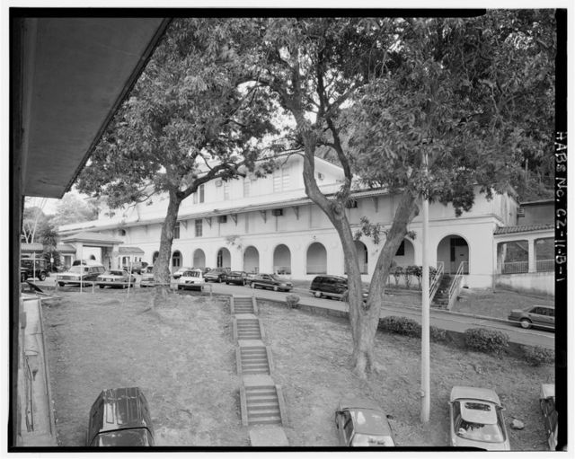 Gorgas Hospital, Kitchen & Mess Hall Building, West of Administration & Clinics Building, Balboa Heights, Former Panama Canal Zone, CZ