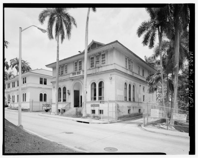 Gorgas Hospital, Mortuary & Chapel, Gorgas Road, Balboa Heights, Former Panama Canal Zone, CZ