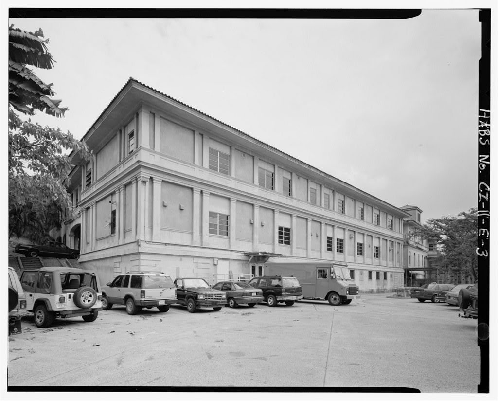 Gorgas Hospital, Sections A & B, Culebra Road, Balboa Heights, Former Panama Canal Zone, CZ