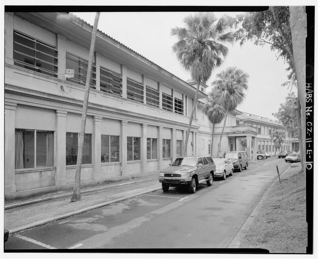 Gorgas Hospital, Sections A & B, Culebra Road, Balboa Heights, Former Panama Canal Zone, CZ
