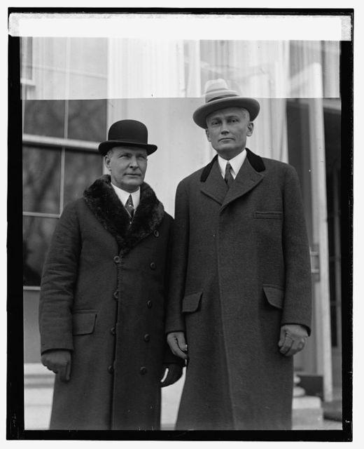 Gov. John W. Trumbell & Senator Hiram Bingham of Conn., 2/5/25