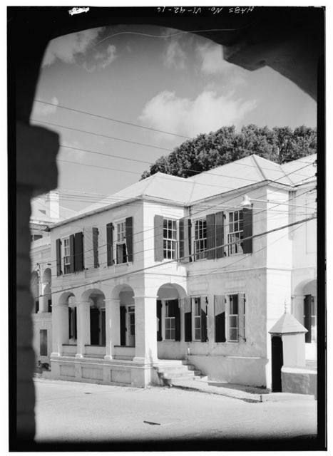Government House, King Street, Christiansted, St. Croix, VI