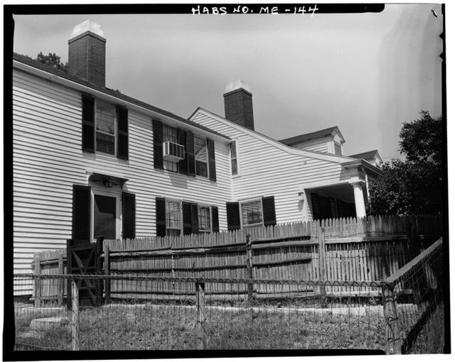 Governor John Hubbard House, 52 Winthrop Street, Hallowell, Kennebec County, ME