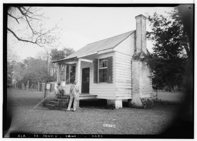 Governor Samuel Pickens House, State Route 14, Sawyerville, Hale County, AL