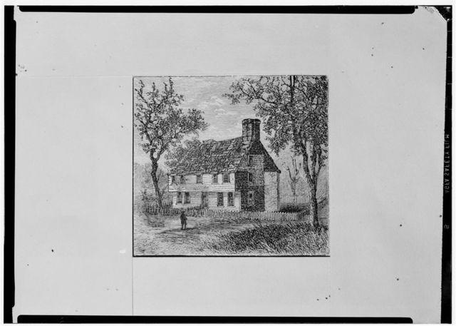 Governor Williams Coddington House, Marlborough Street (Parts in Rhode Island Historical Society), Newport, Newport County, RI